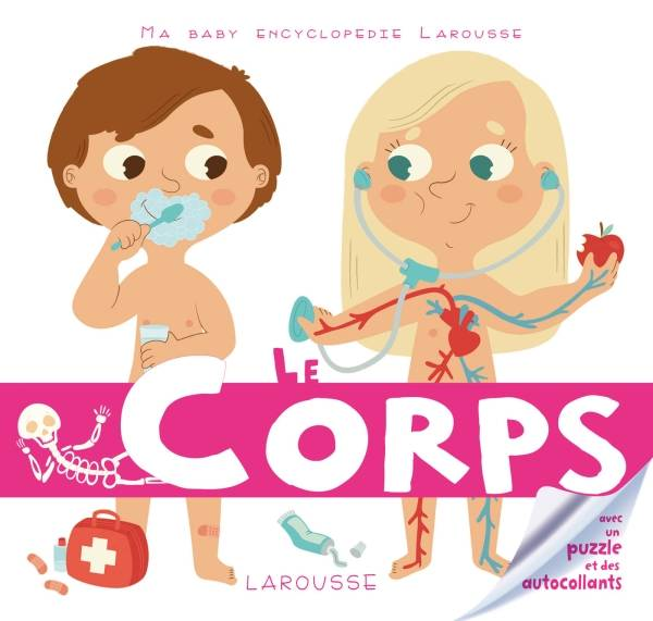 Ma baby encyclopédie..., Le corps