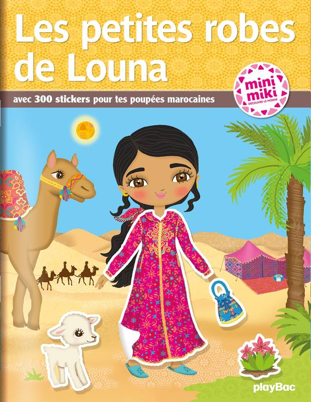 Minimiki - Les petites robes de Louna - Stickers