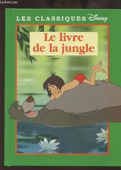 Livre Le Livre De La Jungle Walt Disney Company France