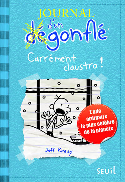 Journal d'un dégonflé, 6, 6/JOURNAL D'UN D GONFL . CARREMENT CLAUSTRO !