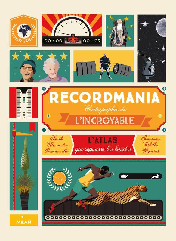 Recordmania, L'Atlas de tous les records