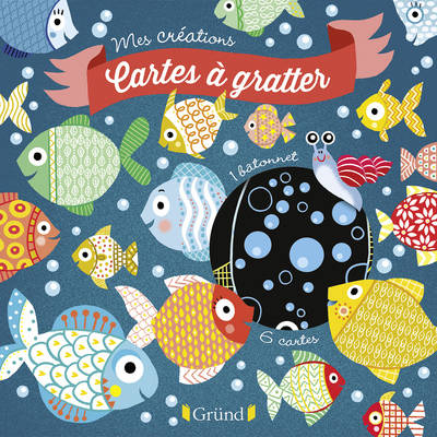 Cartes à gratter Poissons d'avril
