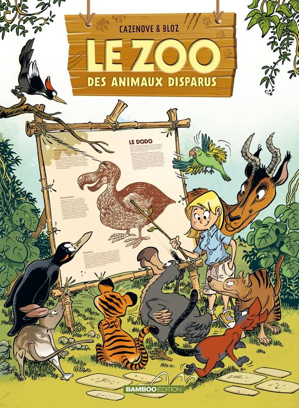 Le zoo des animaux disparus