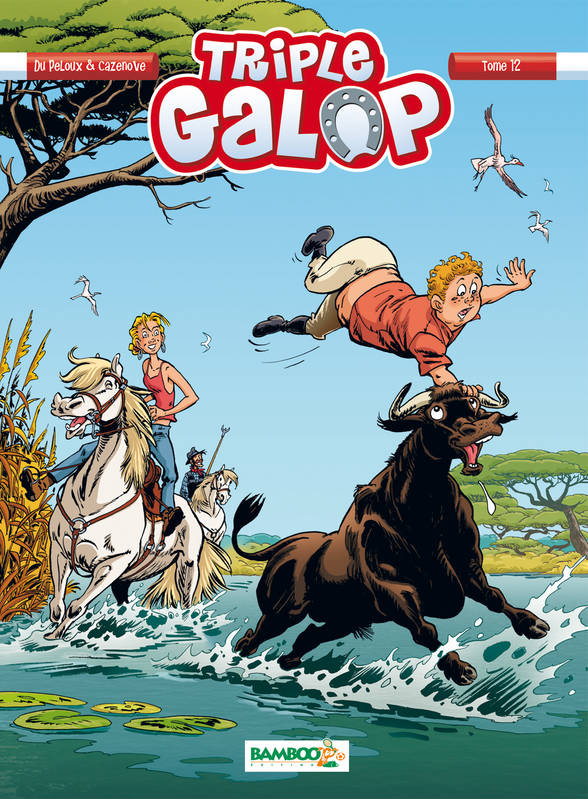Triple galop - Tome 12