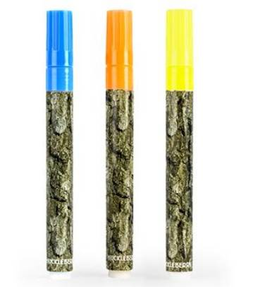 Set de 3 Crayons-craies Huckleberry