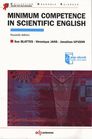 Minimum competence in scientific English, Edition 2013