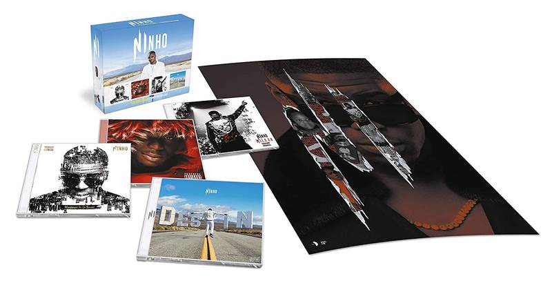 Coffret 4 Albums Cd + Poster Exclusif