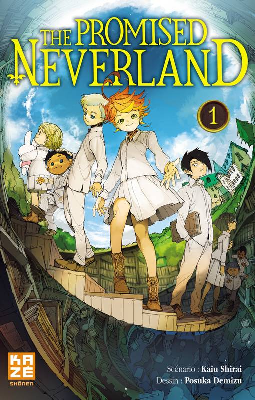 1, The Promised Neverland T01