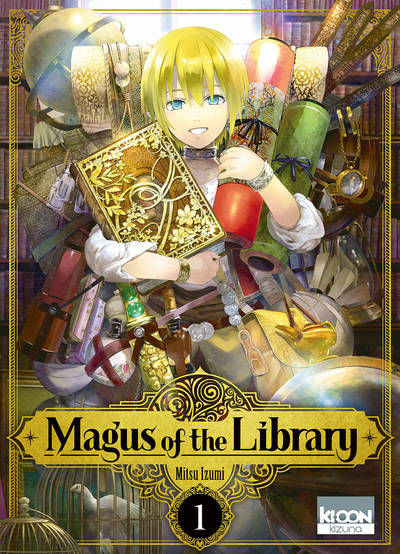 1, Magus of the library T01