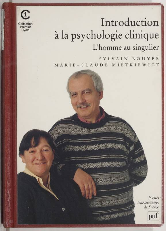 livre introduction la psychologie clinique l 39 homme au singulier sylvain bouyer marie. Black Bedroom Furniture Sets. Home Design Ideas