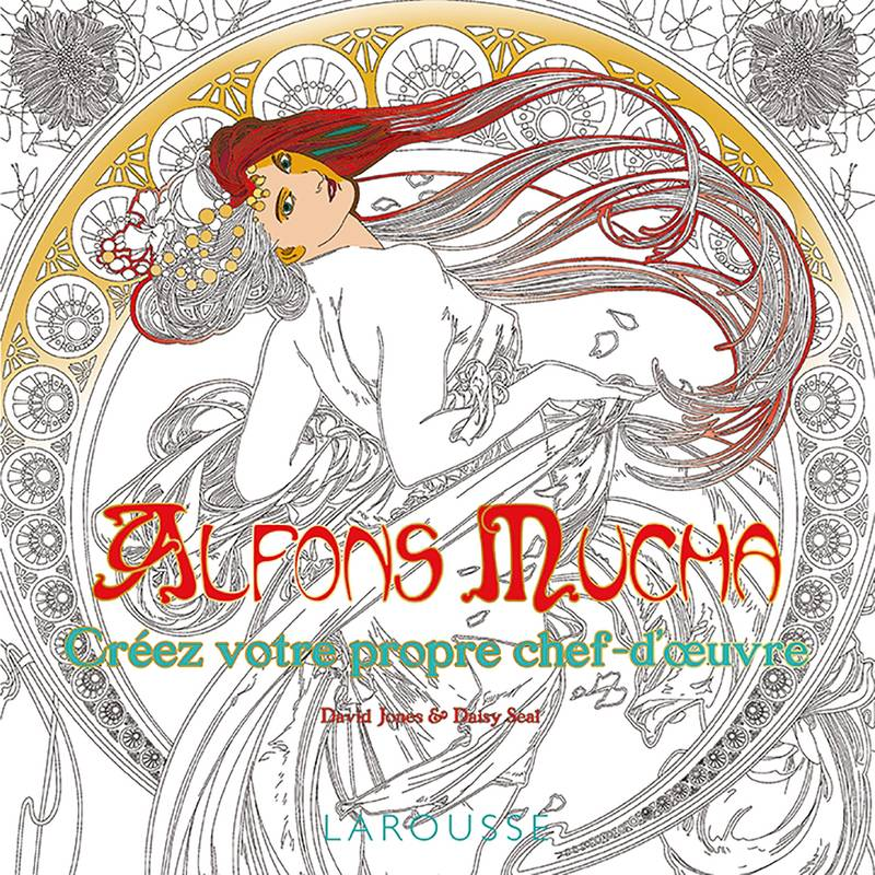 Alfons Mucha coloriages