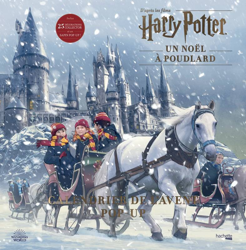 Calendrier de l'avent Pop-up Harry Potter, Un Noël à Poudlard