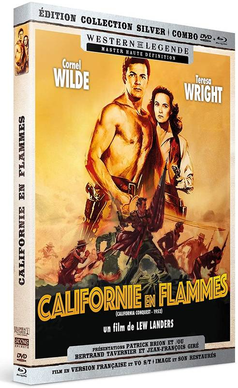 Californie en flammes (Édition Collection Silver Blu-ray + DVD) - Blu-ray (1952)