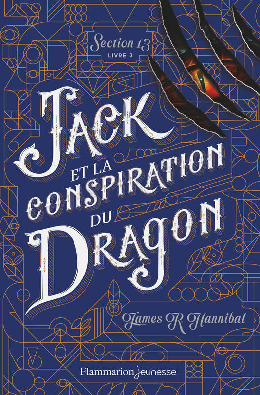 JACK ET LA CONSPIRATION DU DRAGON - SECTION 13 - T03