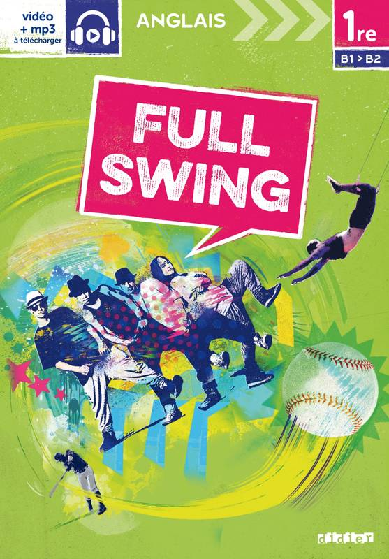 Full Swing 1re - Livre
