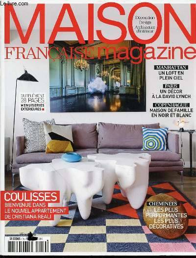 livre maison francaise magazine n 16 d coration design architecture d 39 int rieur coulisses. Black Bedroom Furniture Sets. Home Design Ideas