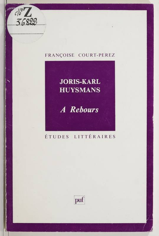 Joris-Karl Huysmans,