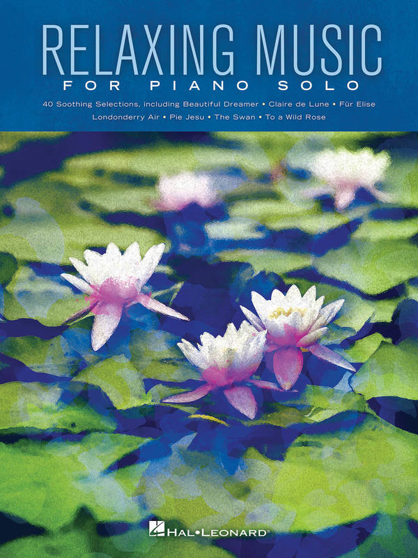 Relaxing Music for Piano Solo, Piano Solo Songbook