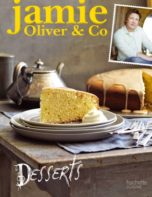 livre jamie oliver co desserts jamie oliver hachette pratique cuisine 9782012306417. Black Bedroom Furniture Sets. Home Design Ideas