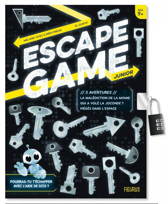 3 aventures / escape game junior