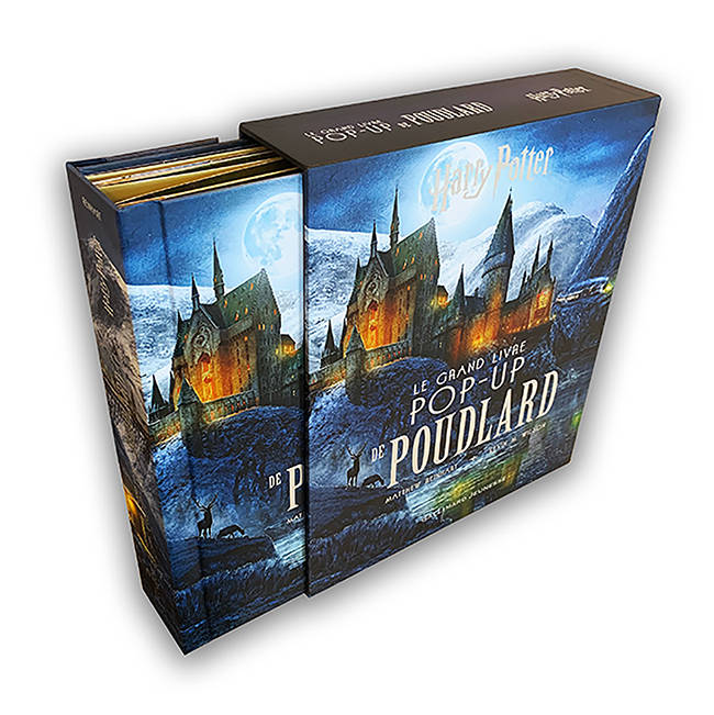 Harry Potter / le grand livre pop-up de Poudlard