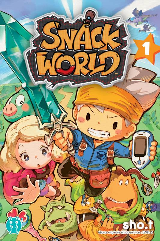 1, Snack world