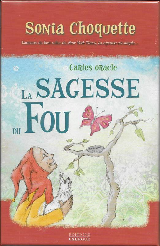 La sagesse du fou / cartes oracle