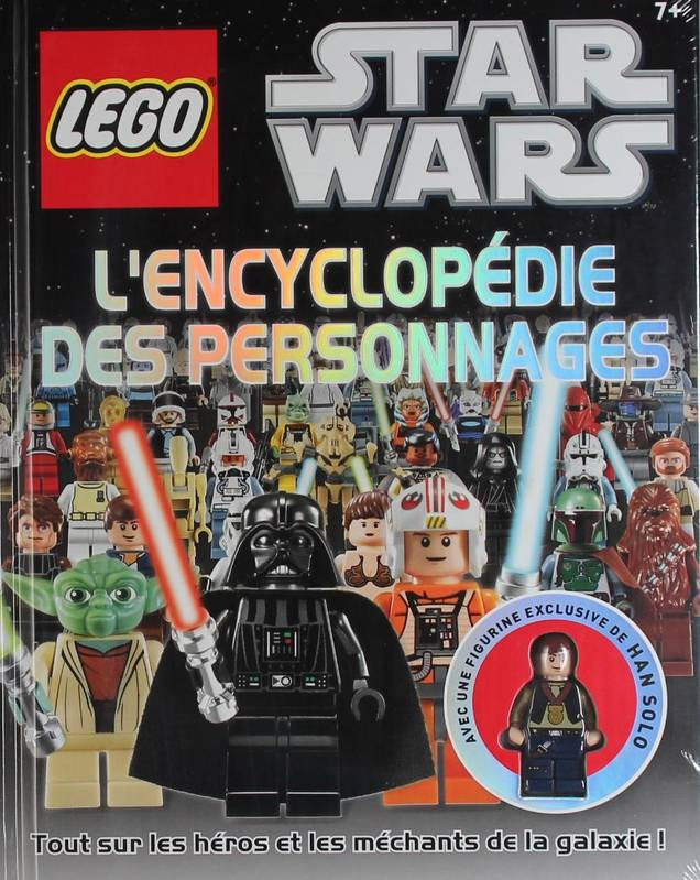 LEGO STAR WARS : L'ENCYCLOPEDIE DES PERSONNAGES