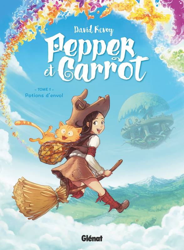 Pepper et Carrot - Tome 01, Potions d'envol