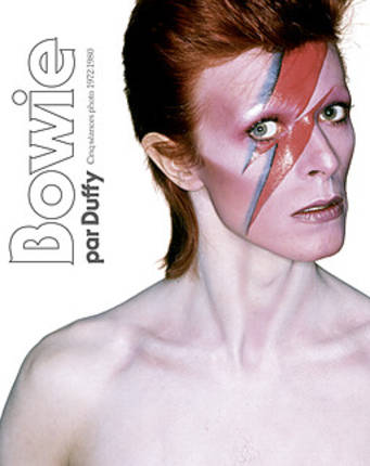 Bowie par Duffy / cinq séances photos 1972-1980