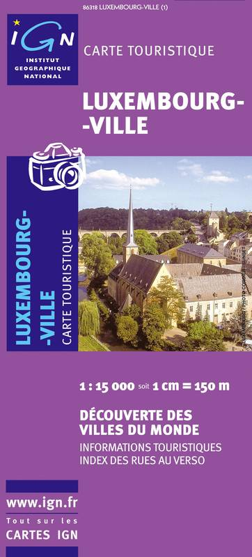 86318 LUXEMBOURG VILLE  1/15.000