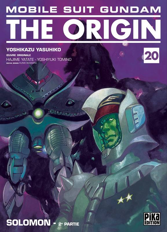 Mobile Suit Gundam - The Origin T20, Solomon - 2e partie