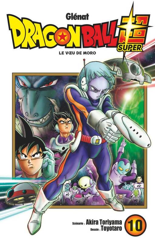 10, Dragon ball super / Le voeu de Moro