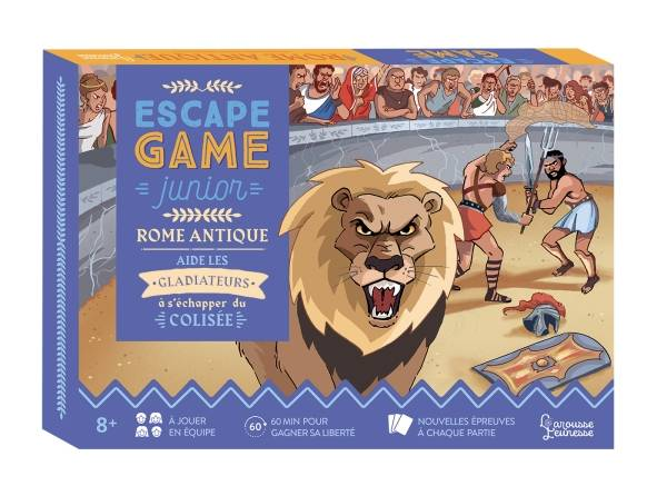 Escape Game Junior - Rome antique