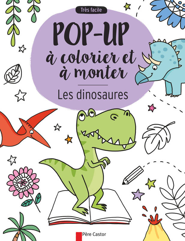 LES DINOSAURES - POP-UP A COLO
