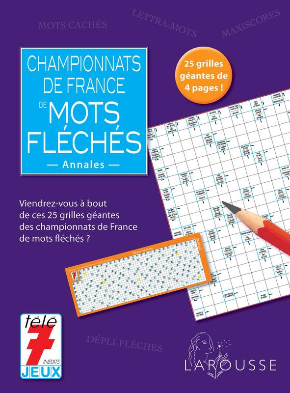 livre championnats de france des mots fl ch s annales. Black Bedroom Furniture Sets. Home Design Ideas