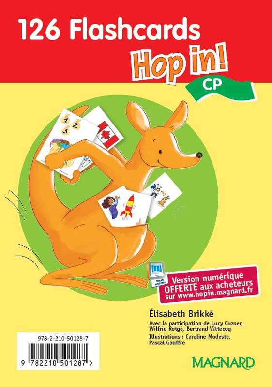 HOP IN ! CP (2015) - FLASHCARDS