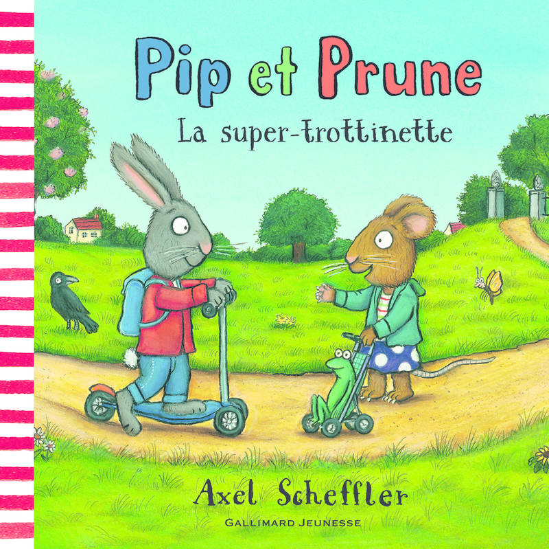 Pip et Prune : La super-trottinette