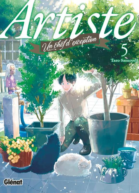 5, Artiste, un chef d'exception - Tome 05