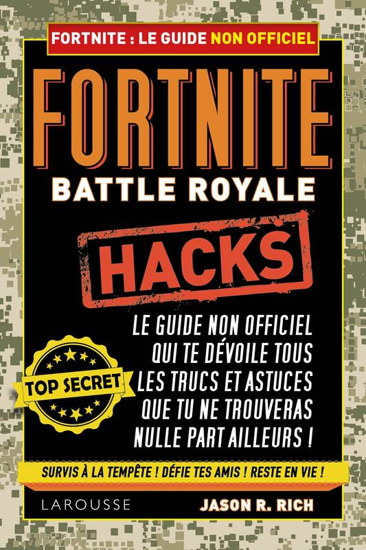 Livre Fortnite Battle Royale Le Guide Non Officiel Jason