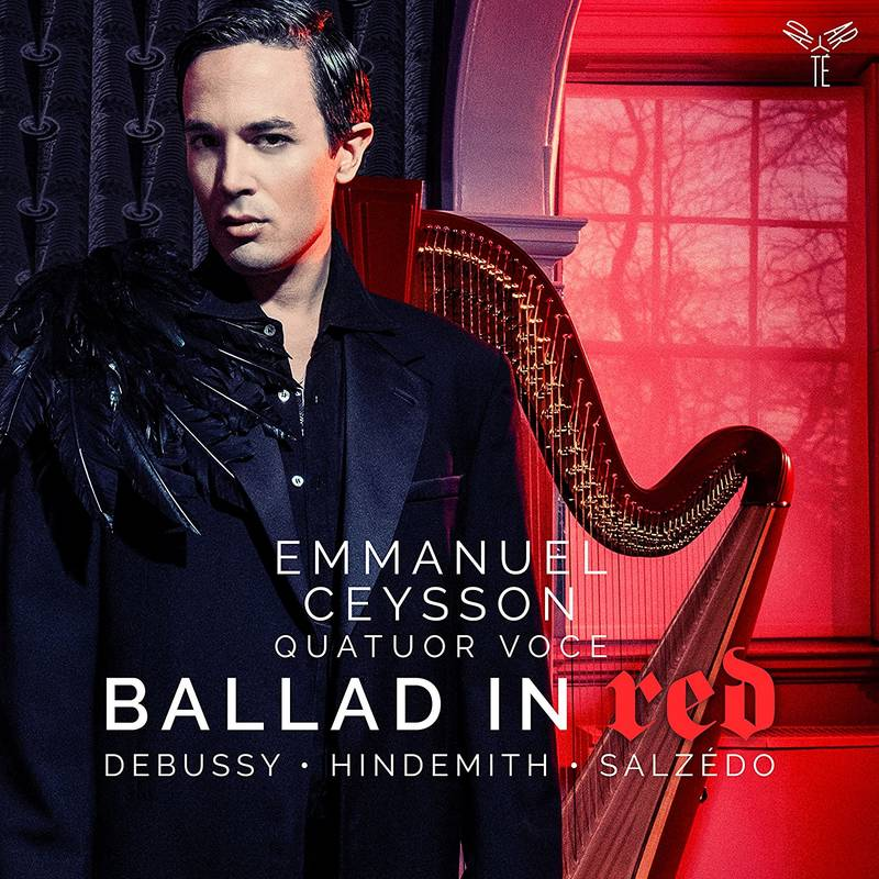 debussy/hindemith/salzedo ballad in red