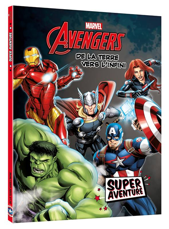 AVENGERS - Super Aventure - Les origines - MARVEL, .