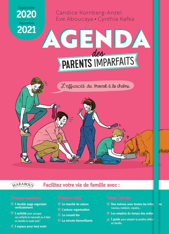 Agenda Parents Imparfaits 2020-2021