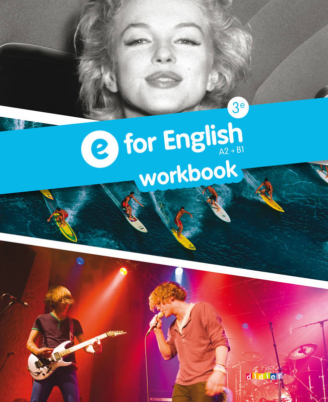 E For English 3e - Workbook