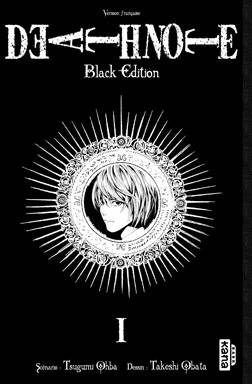 1, DEATH NOTE BLACK EDITION - Tome 1, black edition