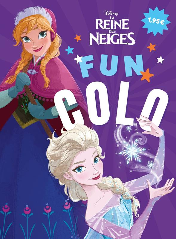 LA REINE DES NEIGES - Fun colo - Disney
