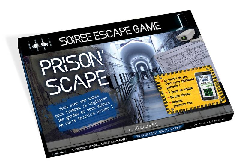 ESCAPE GAME special Prison'scape