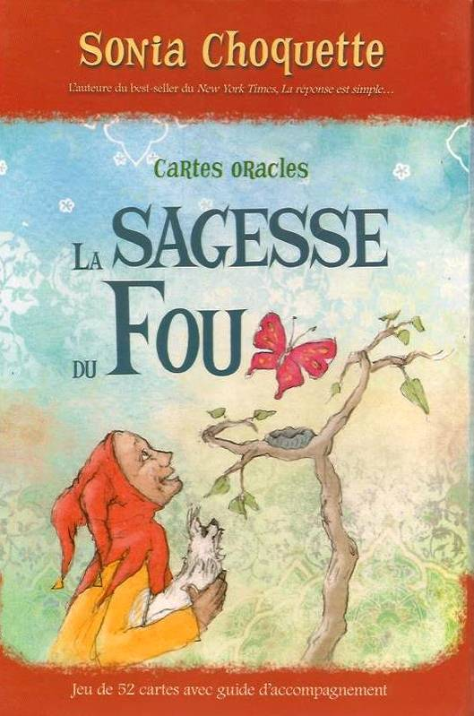 La sagesse du fou / cartes oracles