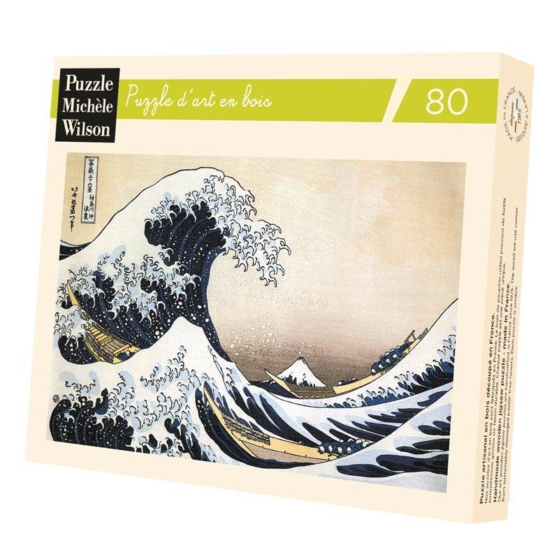 Puzzle - La Vague - Hosukai - 80 pieces