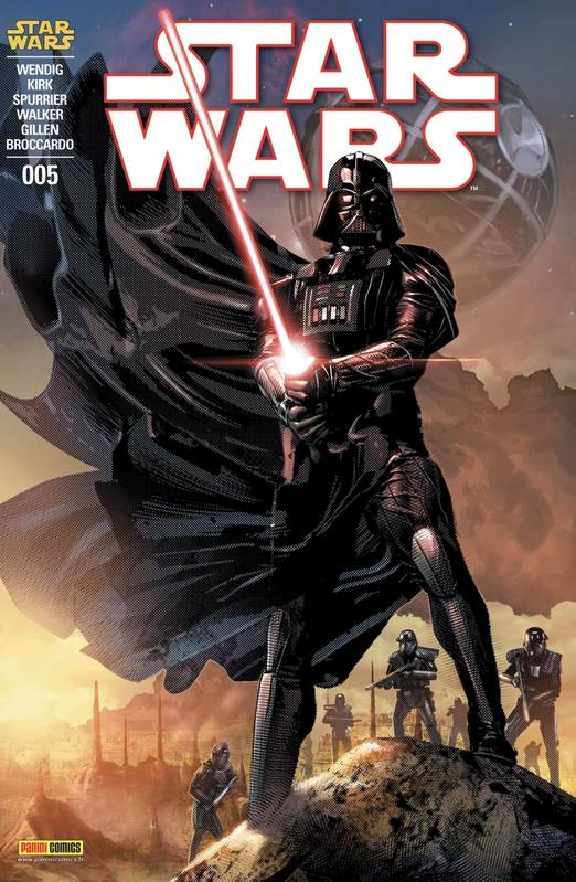 Star Wars nº5 (Couverture 1/2)